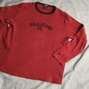 Vintage Polo Jeans Co. Ralph Lauren Waffle XL